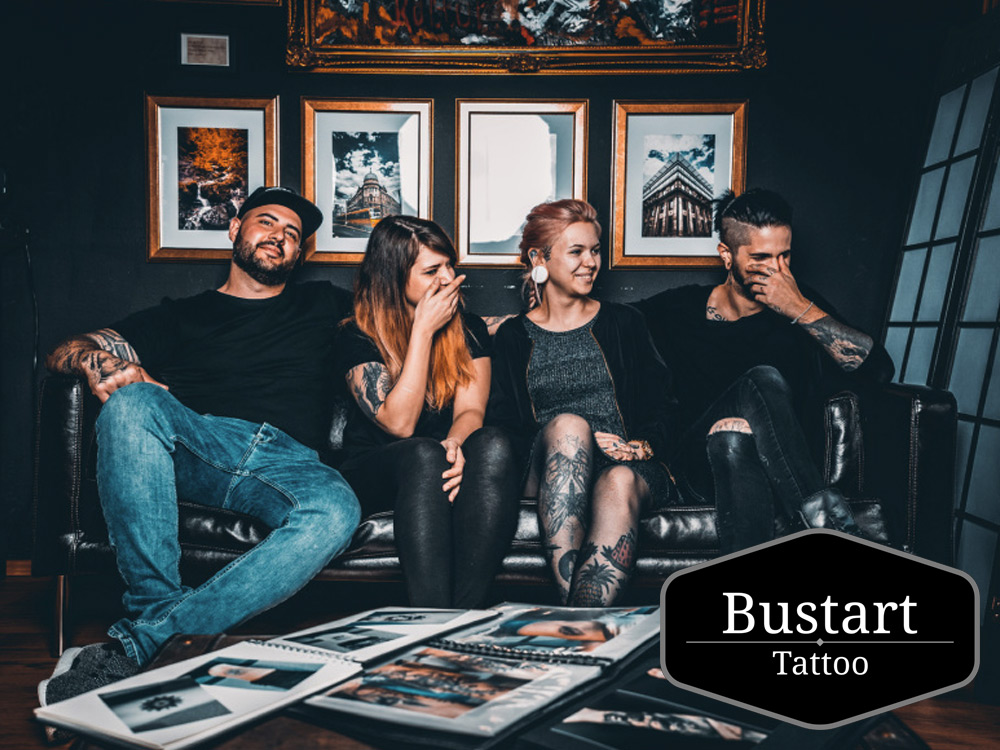 Bustart Tattoo