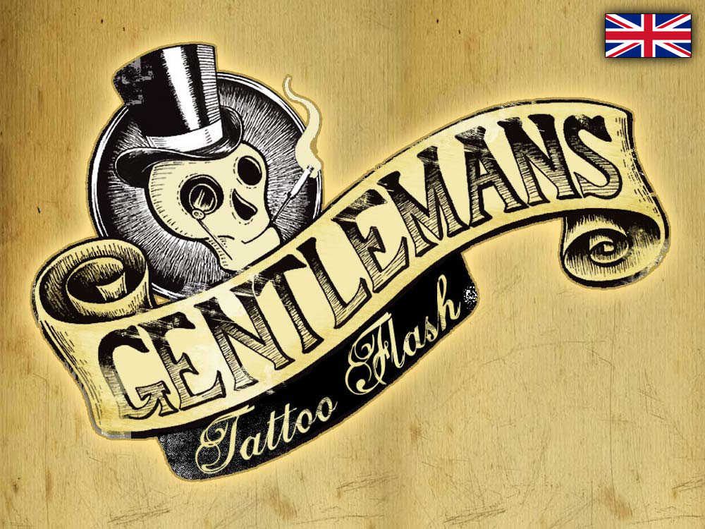 Gentlemans Tattoo Flash