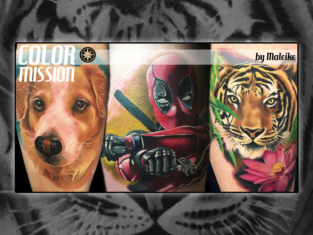 Color Mission Tattoo